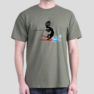 Kokopelli Waterski Dark T-Shirt