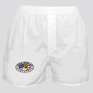 Lock Him Up Boxer Shorts