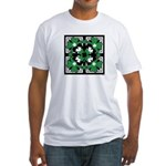 SHAMROCK DESIGN 2 Fitted T-Shirt