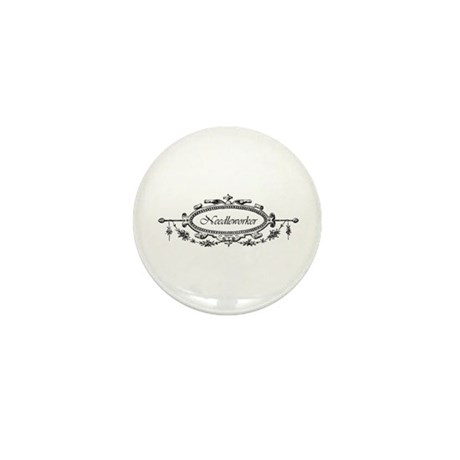 Needleworker - Victorian Mini Button (10 pack)