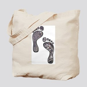 Foot Traffic Tote Bag