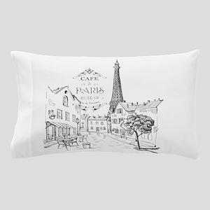 Cafe Paris Pillow Case