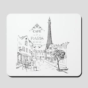 Cafe Paris Mousepad