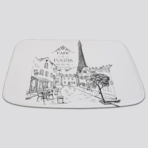 Cafe Paris Bathmat