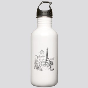 Cafe Paris Stainless Water Bottle 1.0L