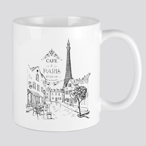 Cafe Paris Mugs