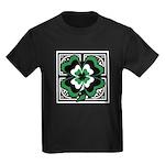 SHAMROCK DESIGN 1 Kids Dark T-Shirt