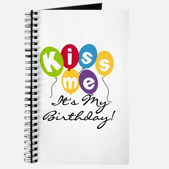 Kiss Me Birthday Journal