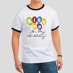 Kiss Me Birthday Ringer T