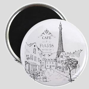 Cafe Paris Magnets