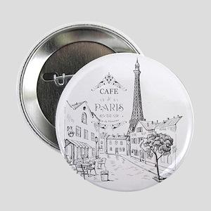 """Cafe Paris 2.25"""" Button"""