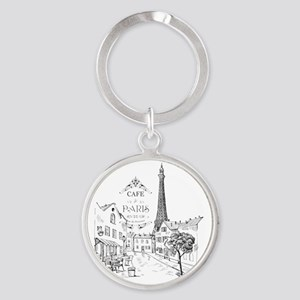 Cafe Paris Keychains