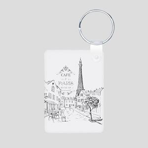 Cafe Paris Keychains