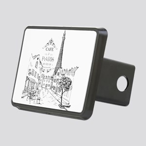 Cafe Paris Rectangular Hitch Cover