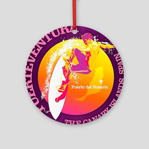 Fuerteventura Round Ornament