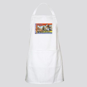 Santa Cruz California Greetings BBQ Apron