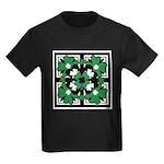 SHAMROCK DESIGN 2 Kids Dark T-Shirt