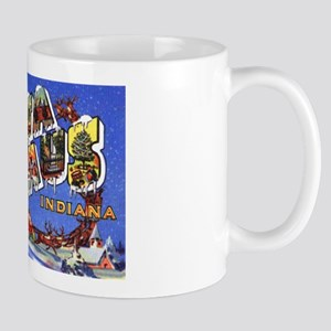 Santa Claus Indiana Greetings Mug