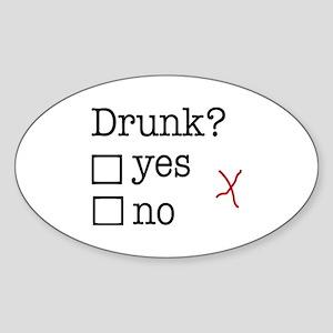 drunk Sticker