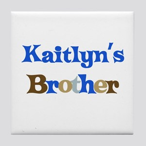 Kaitlyn's Brother Tile Coaster