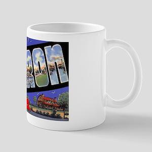 Sharon Pennsylvania Greetings Mug