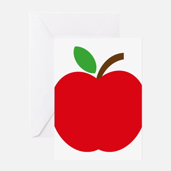 Apfel Greeting Cards