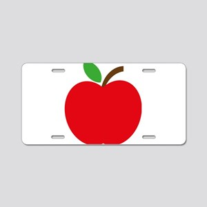 Apfel Aluminum License Plate