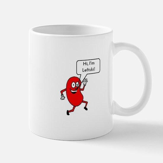 Hi I'm leftski Mugs
