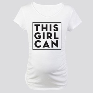This Girl Can Maternity T-Shirt