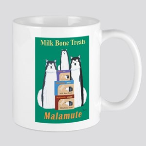 Malamute Milk Bones Mug