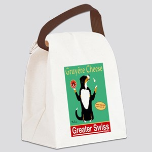 Greater Swiss Gruyère Cheese Canvas Lunch Bag