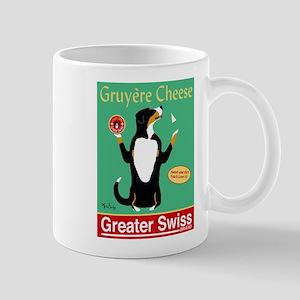 Greater Swiss Gruyère Cheese Mug