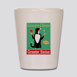 Greater Swiss Gruyère Cheese Shot Glass
