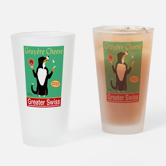 Greater Swiss Gruyère Cheese Drinking Glass