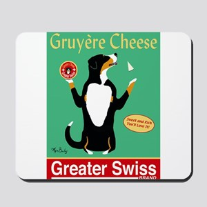 Greater Swiss Gruyère Cheese Mousepad