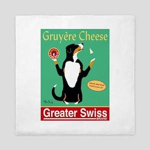 Greater Swiss Gruyère Cheese Queen Duvet