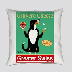 Greater Swiss Gruyère Cheese Everyday Pillow