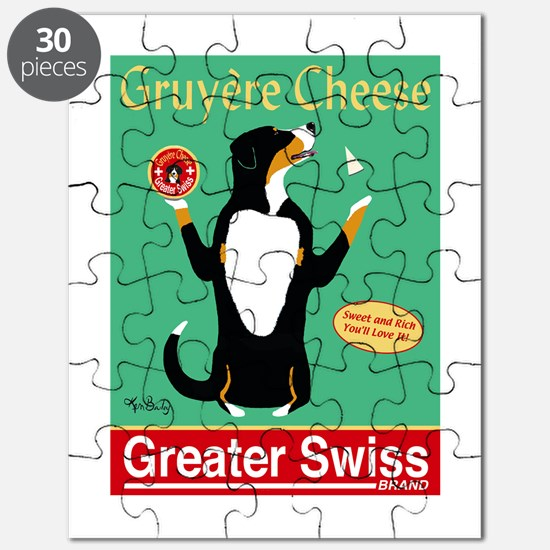 Greater Swiss Gruyère Cheese Puzzle