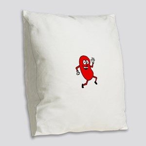 kidney_guy cafe press Burlap Throw Pillow