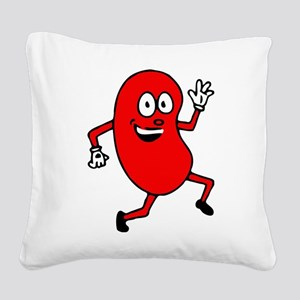 kidney_guy cafe press Square Canvas Pillow