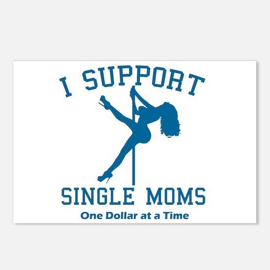 BL I Support Single Moms Postcards (Package of 8)
