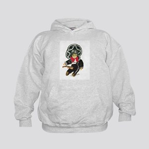 Mexican Boy Doll as Mariachi Kids Hoodie