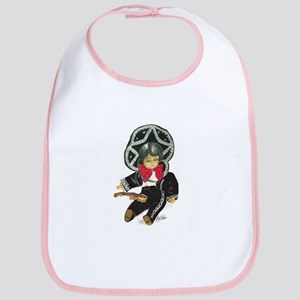 Mexican Boy Doll as Mariachi Bib