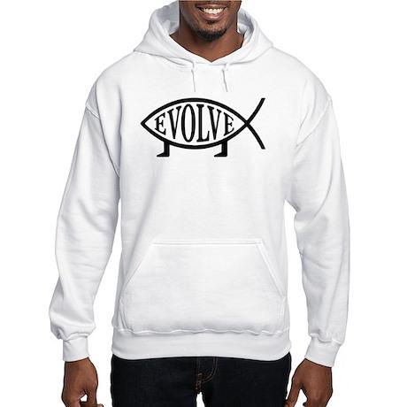 Evolution Fish Hooded Sweatshirt