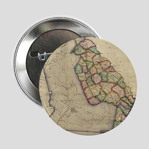 """Vintage Map of Georgia (1817) 2.25"""" Button"""