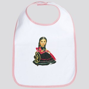 Mexican Girl Dancer Doll Mari Bib