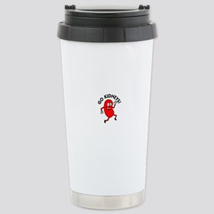 Go Kidneys Stainless Steel Travel Mug