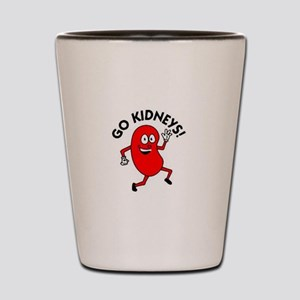 Go Kidneys Shot Glass