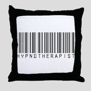 Hypnotherapist Barcode Throw Pillow