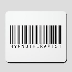 Hypnotherapist Barcode Mousepad